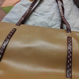 Designer vintage Italian leather purse